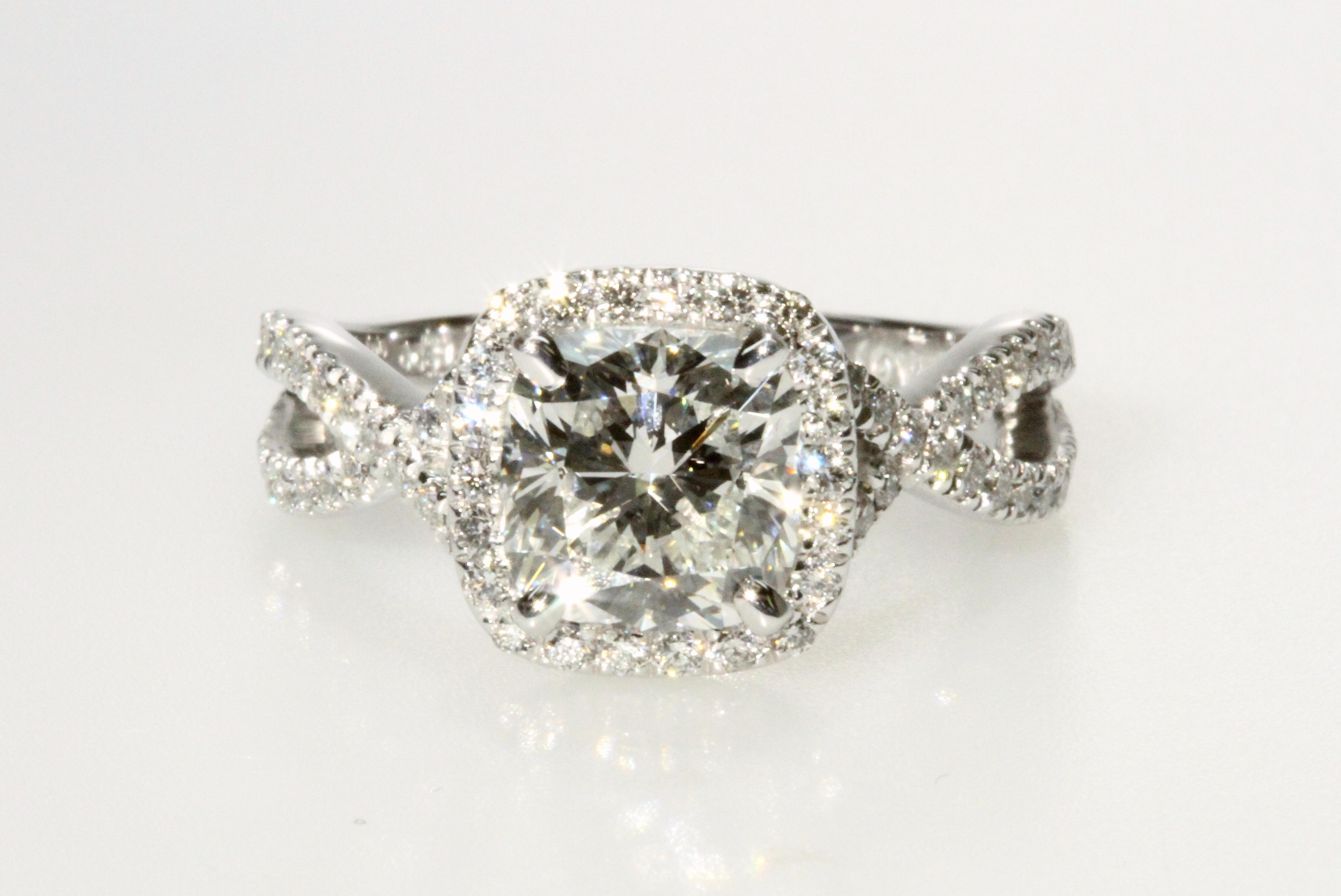 halo engagement ring boston ma