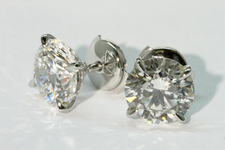 Diamond Earring Boston MA